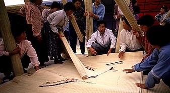 한국의 전문시장(1) 강화 화문석시장