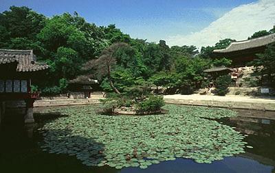 한국의 궁실 건축 - 창덕궁 비원(昌德宮 秘苑)