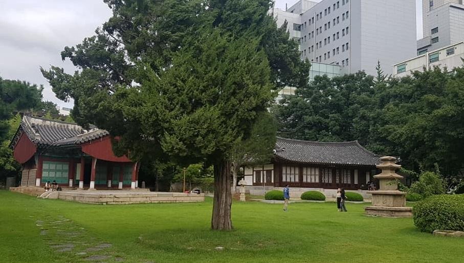 연세대 수경원.터 흥아유신기념탑(興亞維新記念塔)