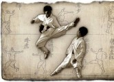 Taekkyon is a traditional martial art native to Korea
